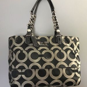 Coach Poppy Print Purse
